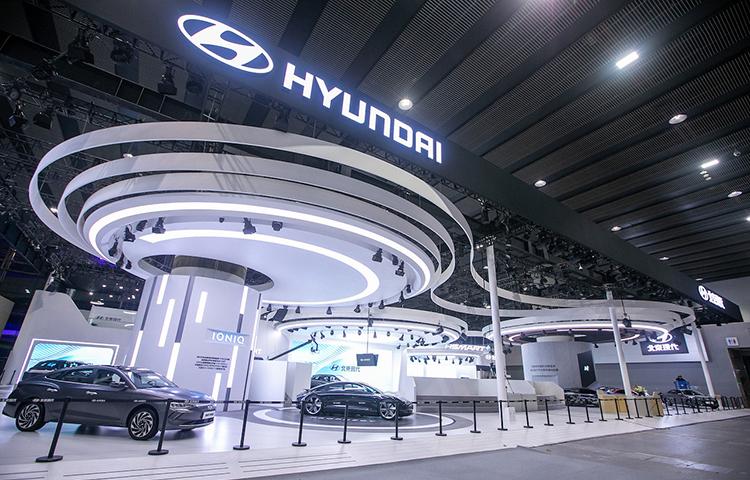现代进口汽车帕里斯帝参展第十八届广州车展